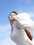 девушка botticelli 2 Стоковые Изображения