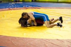 Девушки бойца Стоковая Фотография RF