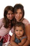 девушки семьи Стоковое Изображение RF