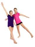 Девушки фитнеса Стоковые Изображения RF