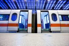 дезертированный поезд Стоковые Изображения