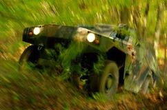 действие с дороги Стоковые Фотографии RF