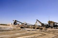 Действующая компания соляное Aigues-Mortes места Стоковые Фото