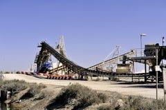 Действующая компания соляное Aigues-Mortes места Стоковая Фотография RF