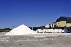 Действующая компания соляное Aigues-Mortes места Стоковые Изображения