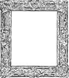 Декоративная винтажная рамка Стоковое Фото