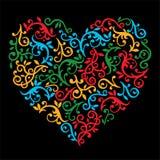 декоративное сердце Стоковые Фото