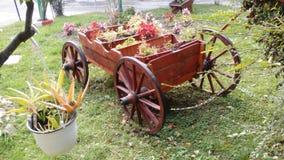 Декоративное carrige сада Стоковая Фотография