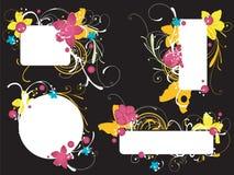 декоративные рамки Стоковое Изображение RF