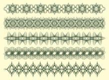 декоративный guilloche 5 Стоковое Фото