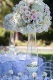 Декор таблицы свадьбы Стоковые Фото