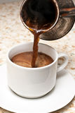 делать кофе Стоковое Фото