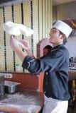 делать пиццу Стоковое Изображение RF