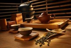 делать установленный чай Стоковые Фотографии RF