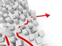 деловое оживление Стоковое фото RF
