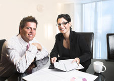 деловые партнеры Стоковое фото RF