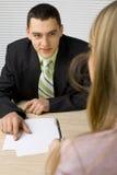деловые переговоры Стоковые Фото