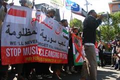 Демонстрация Сирии Стоковые Фото