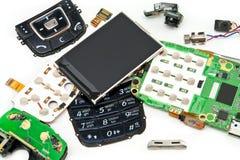 демонтированный телефон Стоковое Изображение RF