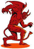 демон Стоковое Изображение RF
