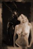 демон Стоковое Изображение