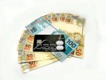 деньги Бразилии Стоковое фото RF