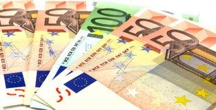 деньги европы Стоковые Изображения RF