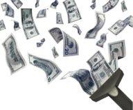 деньги задвижки Стоковая Фотография RF