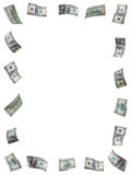 деньги рамки Стоковая Фотография