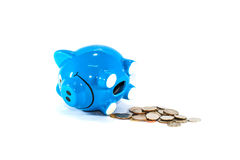 Деньги сбережений на самое лучшее будущее Стоковые Изображения RF