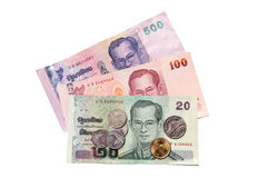 деньги Таиланд Стоковые Фотографии RF