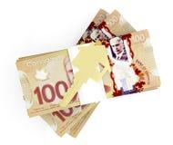 Деньги для дома Стоковые Изображения RF