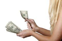 деньги 10 Стоковое Изображение RF