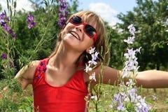 день наслаждается солнечный Стоковое Изображение RF