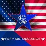 День независимости, предпосылка Стоковые Фото