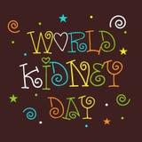 День почки мира Стоковые Фото