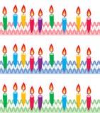 день рождения миражирует рядки Стоковое Изображение RF