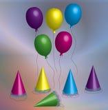 день рождения оргии Стоковое фото RF