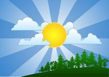 день солнечный Стоковая Фотография