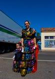день costume charro Стоковая Фотография RF