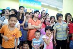 день s shenzhen фарфора детей деятельности Стоковое фото RF