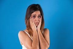 Депрессия женщины Стоковые Фотографии RF