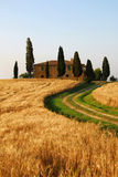 деревенский дом Тоскана Стоковое Изображение
