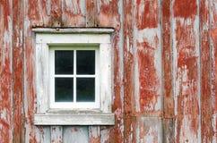 Деревенское фоновое изображение siding и окна амбара Стоковая Фотография
