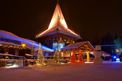 Деревня Санта Клауса Стоковые Фотографии RF