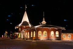Деревня Санта Клауса Стоковое Изображение RF