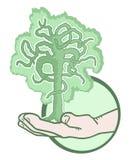 Дерево руки Стоковое Изображение
