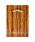 Деревянная дверь шкафа Стоковые Изображения RF