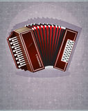 Деревянная губная гармоника Стоковая Фотография RF
