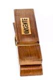 Деревянная зажимка для белья Стоковые Изображения